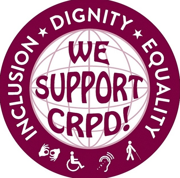We support CRPD image